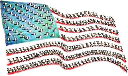 US Flag war graves 2