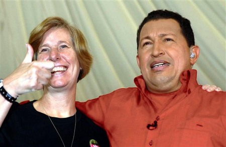 Cindy Sheehan Hugo Chavez