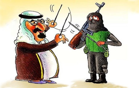 Syria cartoon orchestrated