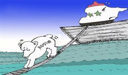Syria Russia jumps ship