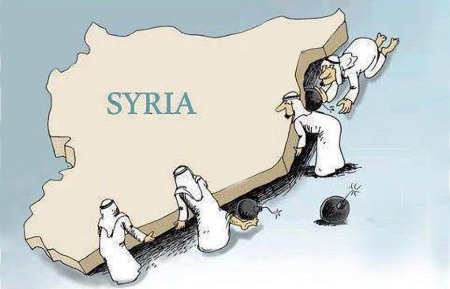 Syria Undermined