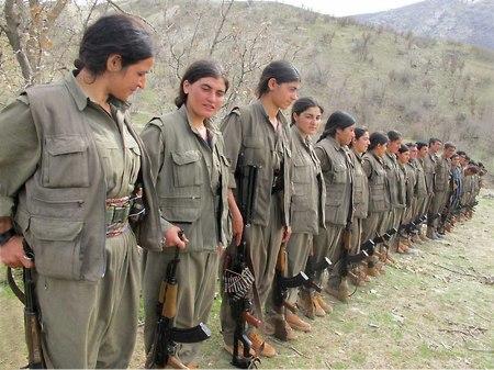 2 PKK women fighters