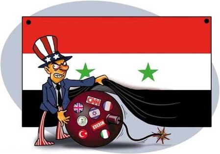 propaganda war on Syria