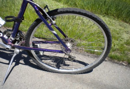 bycicle flat tire 2