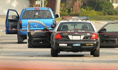 LAPD manhunt