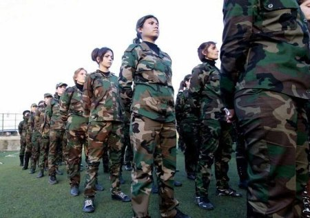Syria female sodiers 6