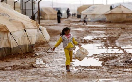 syrian refugee camp