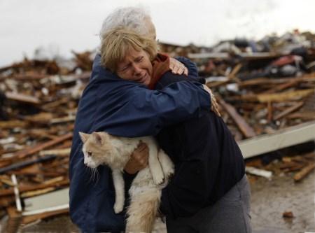 Oklahoma Tornado saving the cat 2