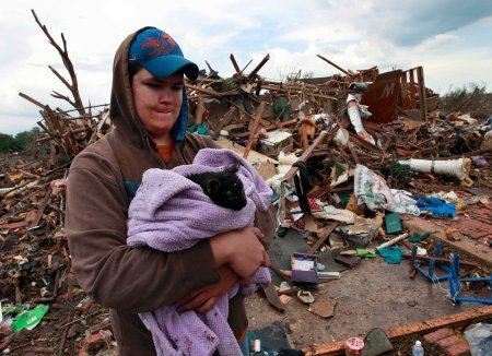 oklahoma tornado saving the cat