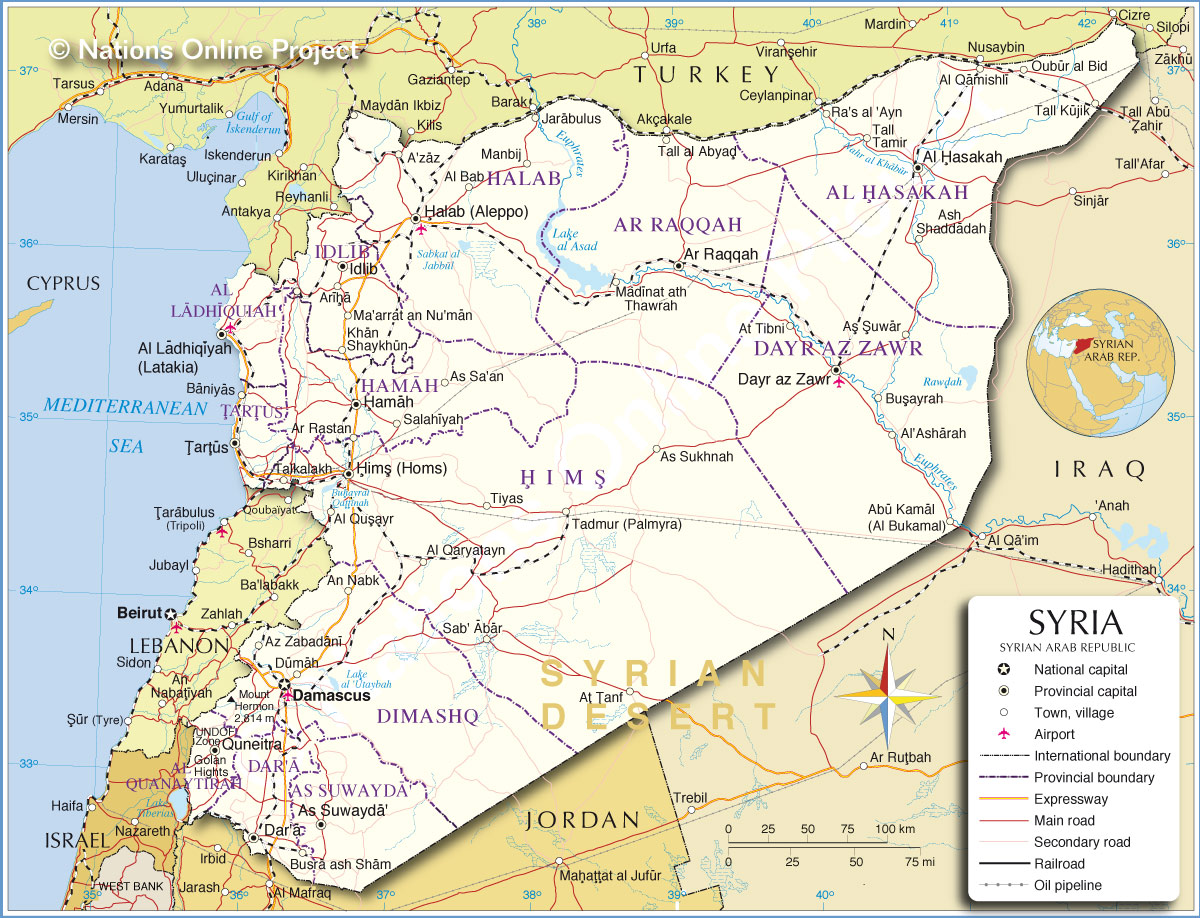 here s where syria is located on a map in you didn t - 28 images ...