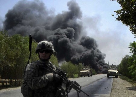 US soldier Intervention