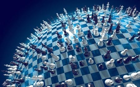 chess globe