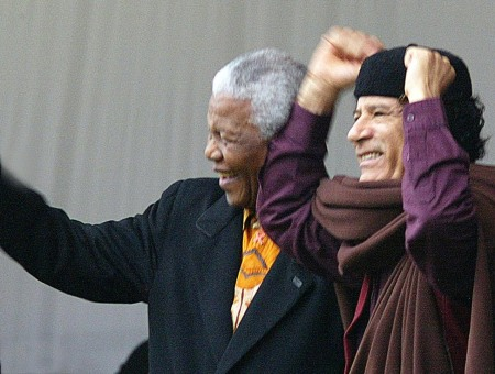 Mandela Gaddafi 2