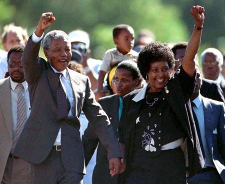 Nelson Winnie Mandela 3