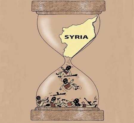 Syria hourglass