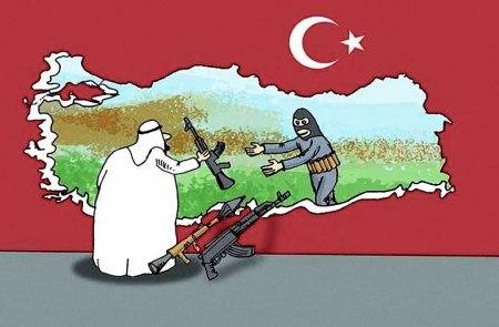 Turkey terror corridor