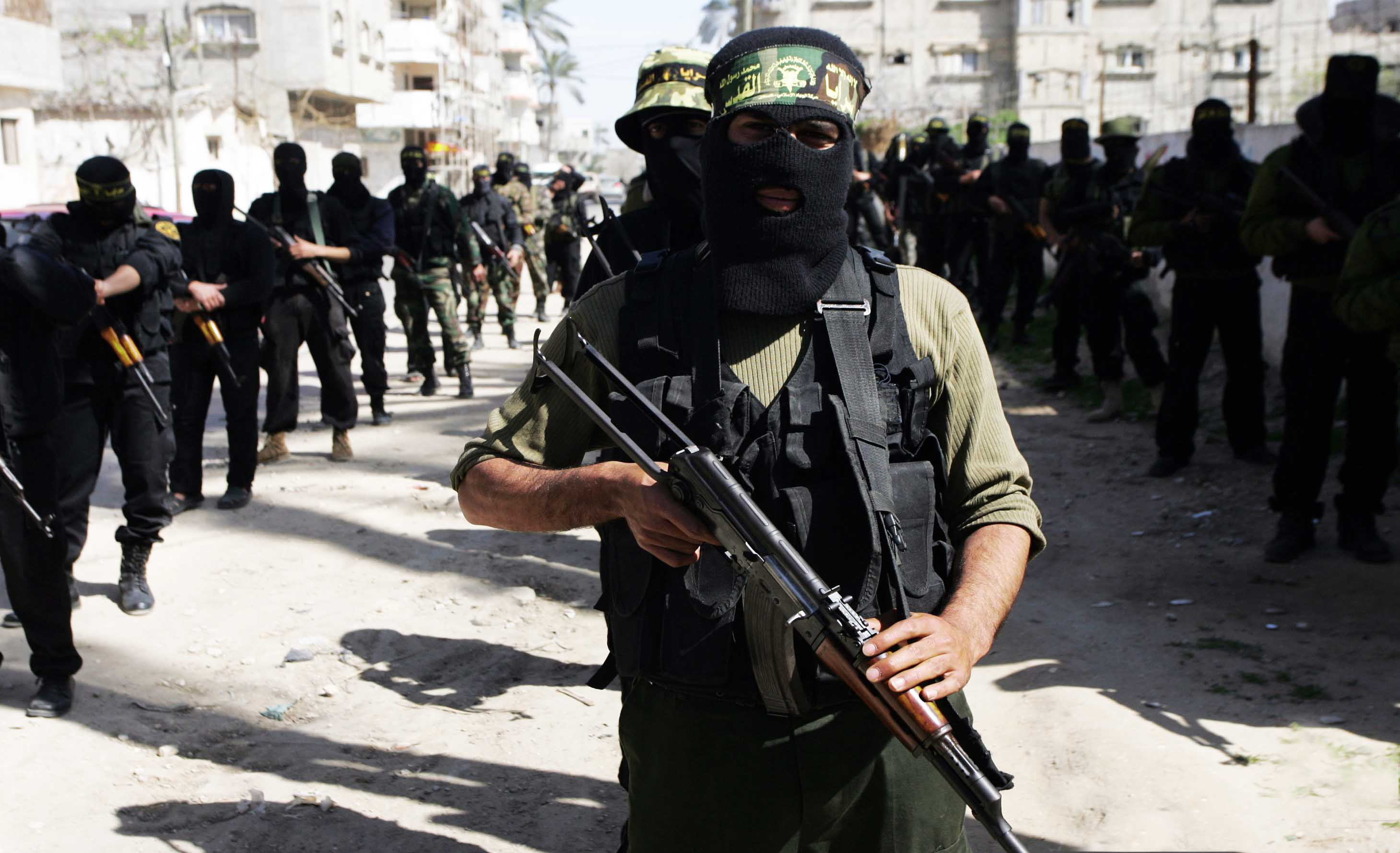 Image result for Hamas FIGHTERS IN SYRIA PHOTO