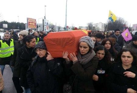 Sakine Cansız burial 3