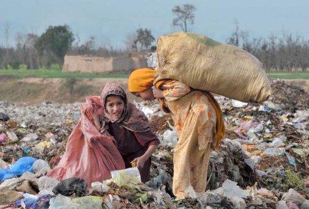 children landfill