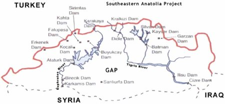 Turkish dams