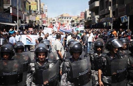 Jordan riot police