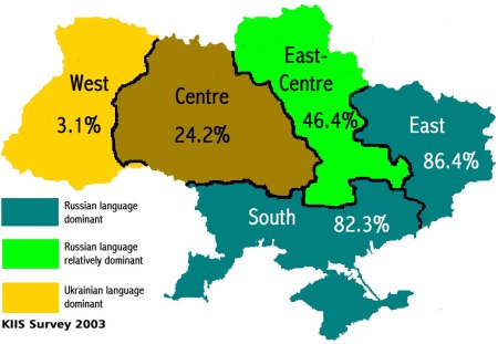 Russian language usage