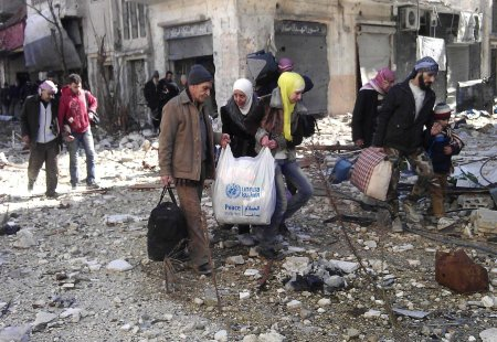 evacuation Homs