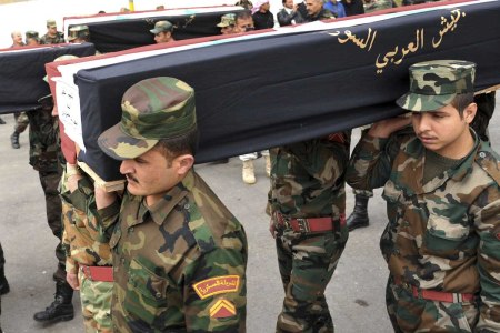 syria army casualties 33