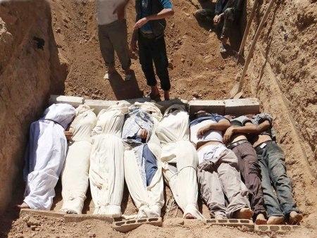 Syria mass grave