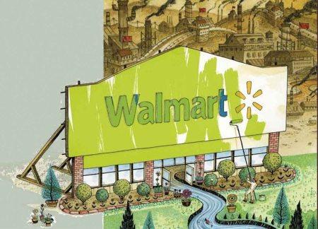 walmart goes green