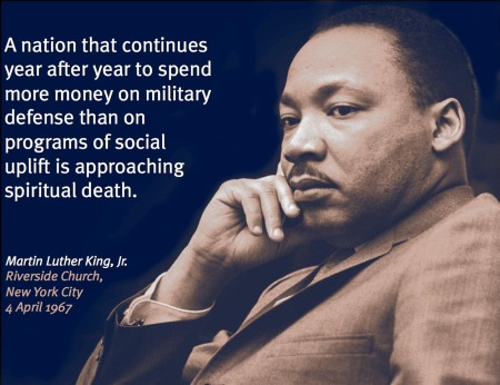 MLK Anti-War
