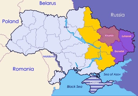 Ukraine map 7