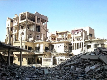 Deir ez-Zor destruction 7