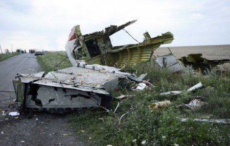 MH17 wreckage 4