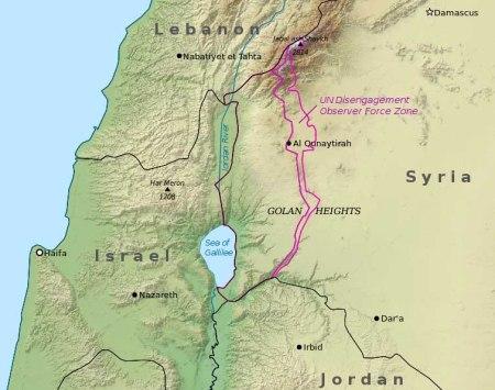 Golan map 1