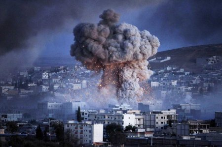 BESTPIX Syrian Kurds Battle IS To Retain Control Of Kobani