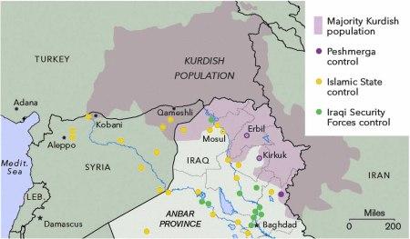 Kurdistan map 4