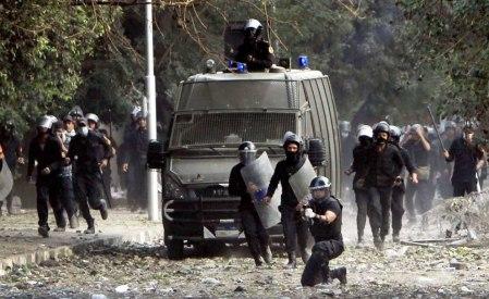 Tahrir Square police