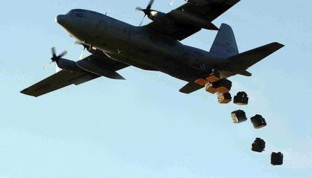 US airdrops Kobane