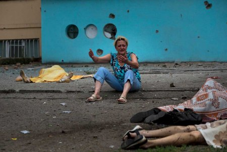 Luhansk civilian victims