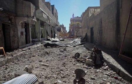 Kobane 11 destruction