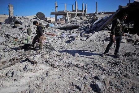 Kobane 23 destruction