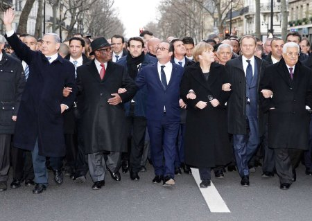 Charlie Hebdo world leaders 2