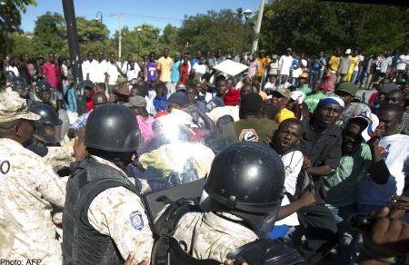 Haiti protest 2