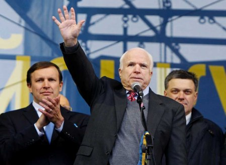 McCain Oleg Tjagnybok 1