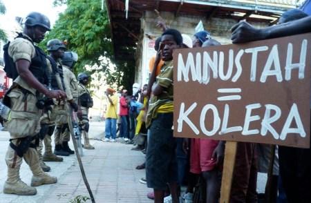 MINUSTAH cholera 1