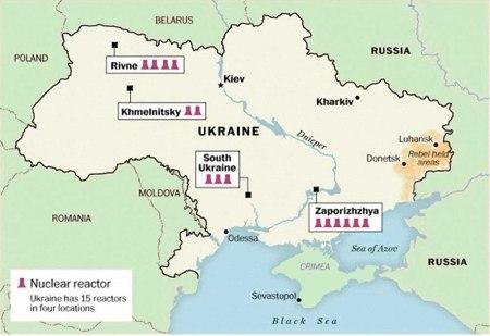 ukraine nuklear reactors