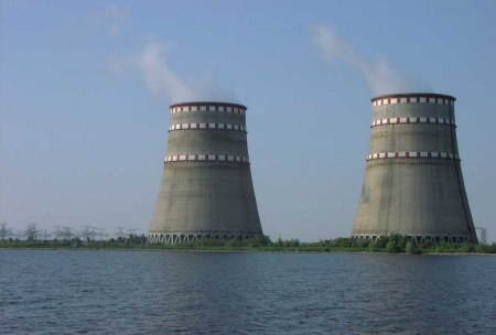 Zaporizhia nuclear plant