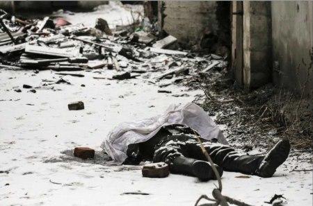 dead Ukrainian soldier 1