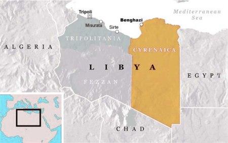 Libya partition